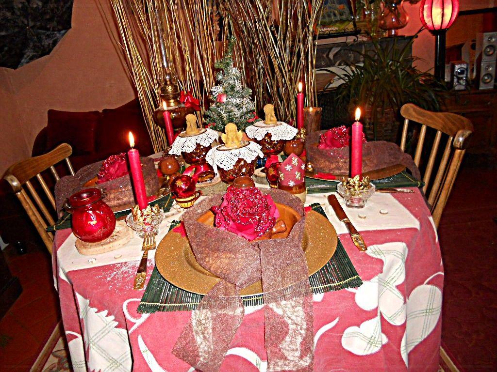 #A9222C Table Noel Rustique 6029 decoration de noel rustique 1024x768 px @ aertt.com