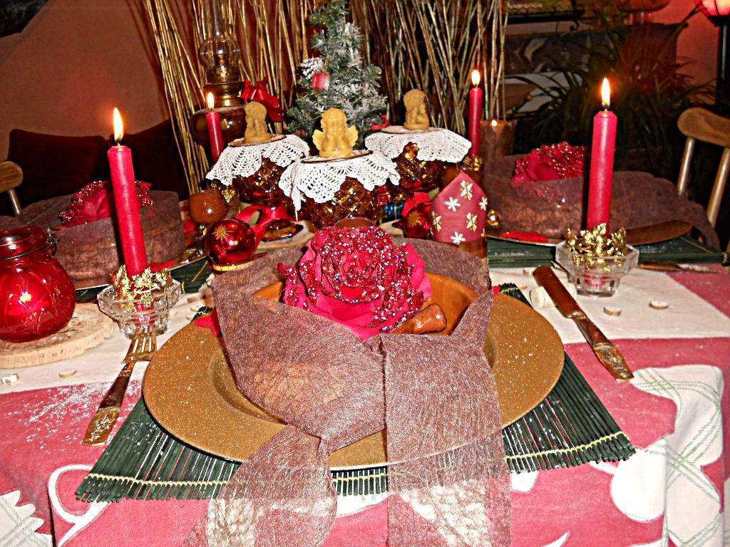 #AF1C28 Table Noel Rustique 6029 decoration de noel rustique 1024x768 px @ aertt.com